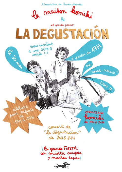 affiche réalisée par Gaëlle Alméras